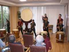 和田八幡宮風神太鼓の皆様による力強い演奏。迫力満点でした!